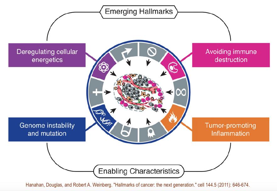 Hallmarks-enabling